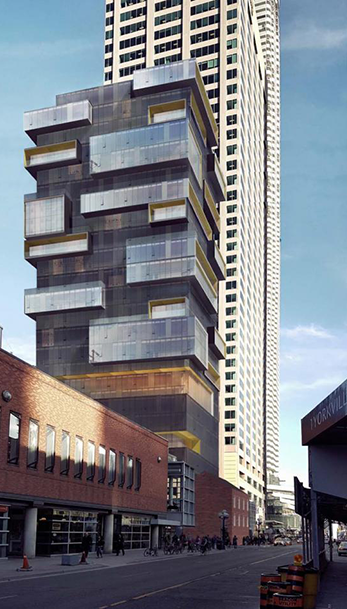 A New Tower in Yorkville Area