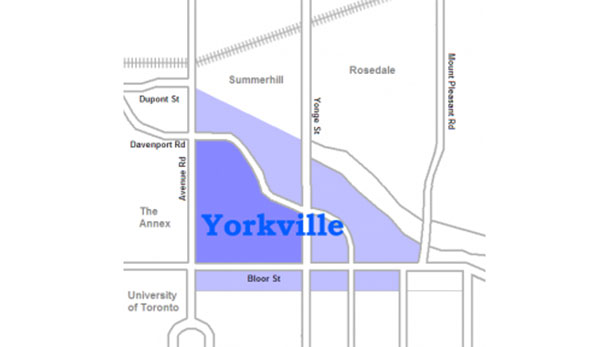 Yorkville Map